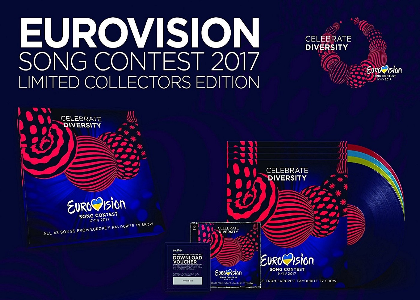 Limited Collector's Edition Vinyl Box Set ESC 2017